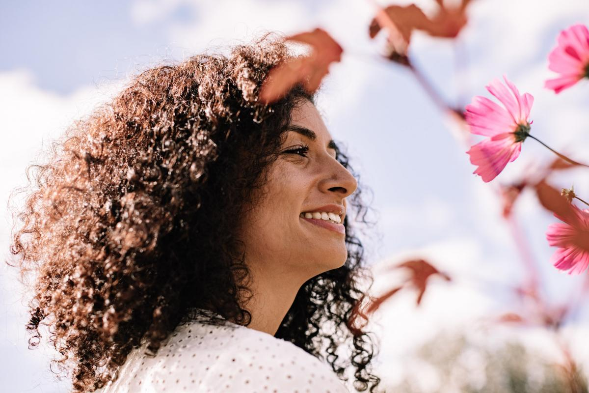 healthy hair and natural medicine