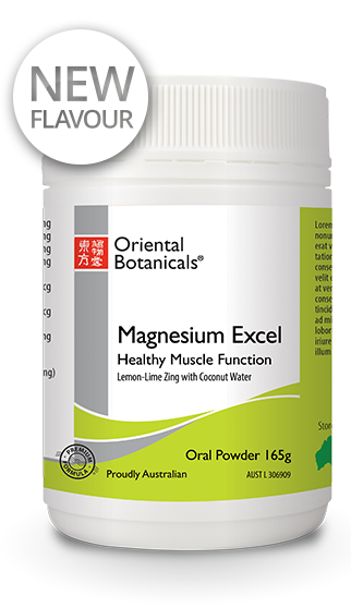 Magnesium Excel Lemon-Lime