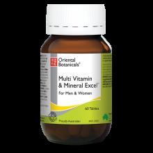 Multi Vitamin & Mineral Excel