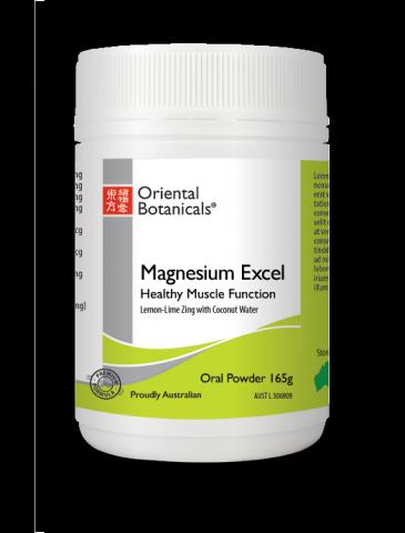 Magnesium Excel Powder Lemon Lime